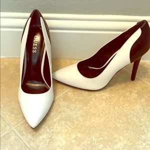 Black and White Shoes by Guess 8 1/2